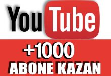Photo of YouTube'da 10 Günde 1000 Abone Kasma 2019